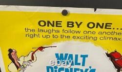 101 Dalmations Original Insert Movie Poster Walt Disney Hollywood Posters