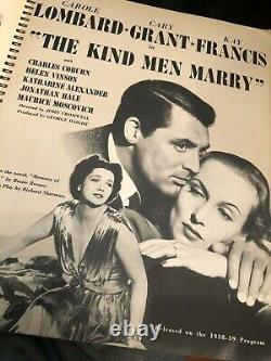 1939 Vtg RKO RADIO PICTURES Hollywood Film Memorabilia Yearbook HUNCHBACK DISNEY