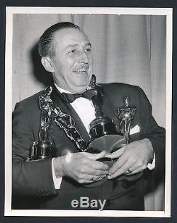 1954 WALT DISNEY, Famous Entertainment Icon TOO MANY OSCARS