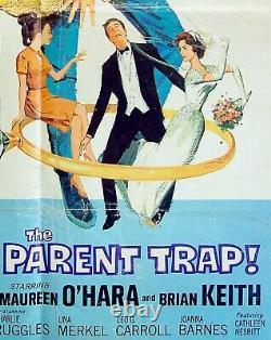 1961 Hebrew ISRAEL Jewish FILM POSTER Movie THE PARENT TRAP Disney HAYLEY MILLS