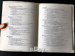 1965 37th Academy Awards PROGRAM Mary Poppins Oscars Walt Disney Julie Andrews