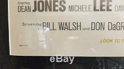 1968 Walt Disney Production The Love Bug Rare original Vintage one sheet