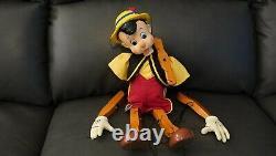 2007 Walt Disney Pinocchio Marionette By Master Replicas (Parts or Repair)