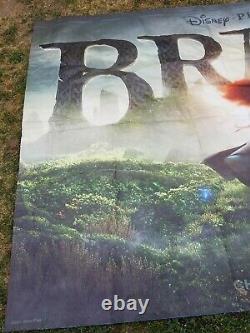 2011 Brave Disney Movie Big Huge Theater Vinyl Banner 12' x 8' Change Your Fate