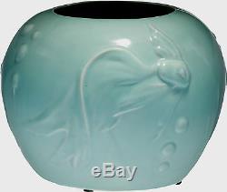A Walt Disney 1940 Fantasia Vernon Kilns Pottery Goldfish Vase