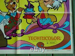 Alice in Wonderland R74 Original U. S. One Sheet DISNEY Movie Poster