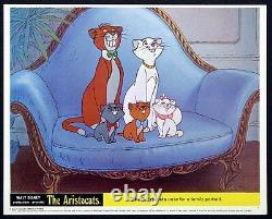 Aristocats Disney Animation Cartoon Family Portrait 1970 Color Still #10