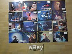 Aushangfotos 16 AHFs Komplettset + Umschlag Peter Pan WA 1979 Walt Disney