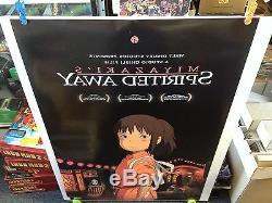 BOX OF 25 SPIRITED AWAY Movie Poster 27x40 One Sheet Disney's Miyazaki's