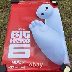 Bus Stop Movie Poster Disney Big Hero 6 70 X 48 Promotional Poster