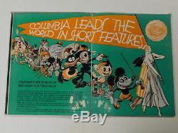 COLUMBIA PICTURES 1932-33 Film Studio Campaign Book COLOR MOVIE TRADE ADS Disney