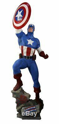 Captain America Classic Life Size Statue Marvel Disney Rubie's