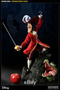 Captain Hook Pirate Pirat Peter Pan 14 Premium Format Statue Disney Sideshow
