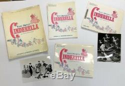 Cinderella Original Movie Presskit 1957 Disney 41 Stills Hollywood Posters