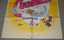 Cinderella Walt Disney Original 1957 Rerelease
