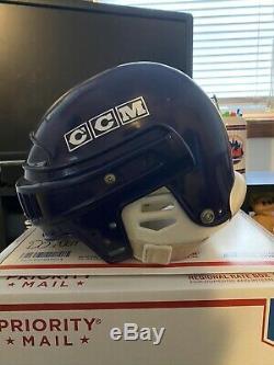 D1 D2 Mighty Ducks Screen Used Helmet Lester Averman Movie Prop LOA Disney NHL