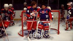 D2 The Mighty Ducks 1994 Goldberg Screen Used Team USA Movie Jersey Disney Prop