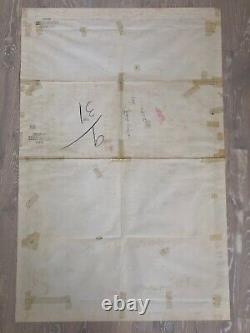 DISNEY 1959 SLEEPING BEAUTY ORIG 1-SHEET MOVIE POSTER 27x41 STYLE A, 35mm