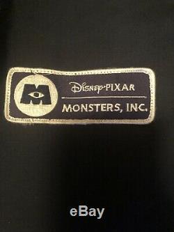 DISNEY PIXAR MONSTERS INC JACKET 2001 PROMO Cast Crew DICKIES RARE