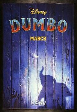 DUMBO CineMasterpieces ORIGINAL DS MOVIE POSTER ELEPHANT CIRCUS DISNEY 2019
