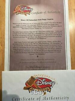 Disney 102 Dalmations Movie Prop Stunt Puppy Stand-in