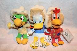 Disney 3 caballeros, Donald, Panchito & Jose Carioca Bean bags 9