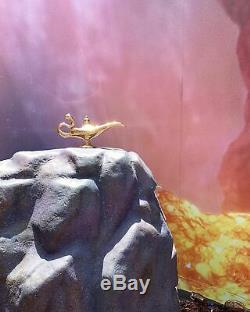 Disney Aladdin 2019 Live Action Movie Magic Genie Lamp METAL & Free Items RARE