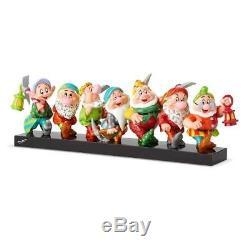 Disney Britto Seven Dwarfs 5.7 Figurine Statue Snow White