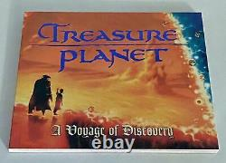 Disney Editions TREASURE PLANET A VOYAGE OF DISCOVERY art book paperback 2002