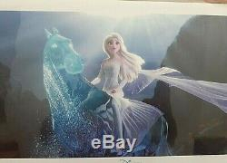 Disney FROZEN 2 Commemorative Limited Ed Original Lithograph Poster 18 x 9