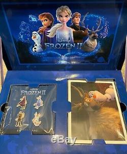 Disney Frozen 2 II Limited Theater Box Bundle Brand New Movie Memorabilia