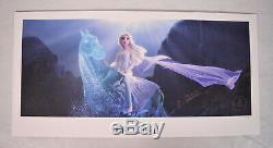 Disney Frozen II 2 Elsa Poster Lithograph Commemorative 2019 FYC