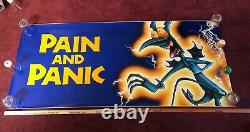 Disney Hercules movie poster Pain and Panic A Giant 68 x 30