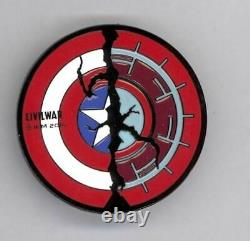 Disney ILM Lucasfilm Marvel Captain America Civil War Shield FX Crew Cast Pin