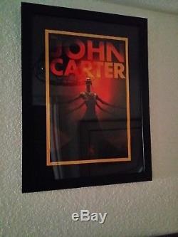 Disney John Carter Litho Poster Numbered RARE VFX Artist Gift