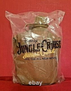Disney Jungle Cruise Water Canteen Movie Promo Mint In Package Very Limited