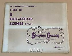 Disney Lobby Cards Sleeping Beauty Set of 8 Unused 1st Release 1959
