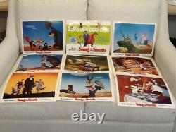 Disney Lobby card set full set of 9 Song of the South
