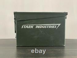 Disney MARVEL Iron Man Film (STARK INDUSTRIES) Ammo Case Original Movie Prop