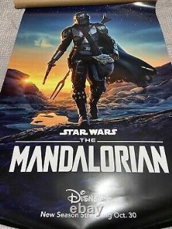 Disney Mandalorian Season 2 Original 27x40 Double Sided DS Poster F