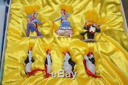 Disney Mary Poppins Returns Promo Limited Edition Holiday Ornaments Set Of 7 Bag