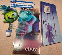 Disney Monsters University Cardboard Cut Out Display Standee Read Description