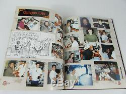 Disney Mulan Film Crew Yearbook 1998 Signed by 16 Crew and Artists Very Rare