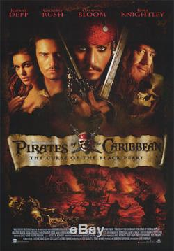 Disney Pirates Of The Caribbean Curse Of The Black Pearl Prop Rare