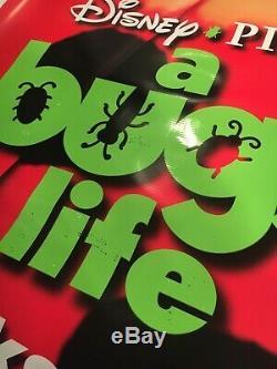 Disney Pixar A Bugs Life Huge Vinyl Movie Theatre Banner Poster 2 Sided (#2)