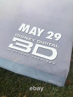 Disney Pixar UP Original Movie Theater Poster Vinyl Banner (6 x 8.5)