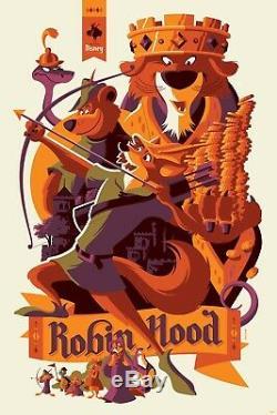 Disney Robin Hood Print Tom Whalen Cyclops 173/290