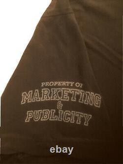 Disney Tangled Animation Crew Marketing Publicity T-Shirt Double Sided Rare