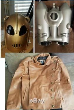 Disney The Rocketeer Helmet, Jetpack, and Jacket Costume replica props