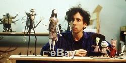 Disney Tim Burton Nightmare Before Christmas Jack Skellington Puppet Hand Rare